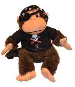 Treasure Island Monkey Pirate