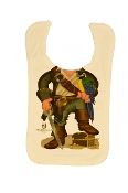 Boy's Pirate Parrot Bib