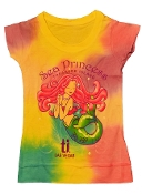 Sea Princess Tie Dyed Shirt